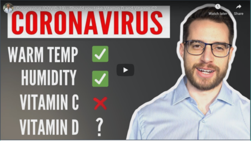 Coronavirus (Covid-19) – should take Vitamin D and Vitamin C?