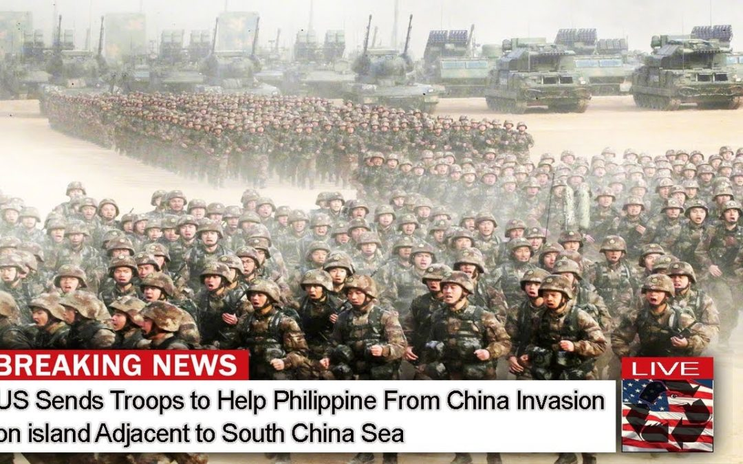 US Sends Troops to Help Philippine From China Invasion on Island Adjacent to South China Sea